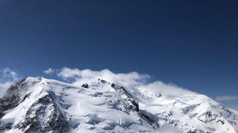Le Mont Blanc se dévoile aux skieurs qui en étaient privés durant les deux mois de confinement. / © Céline Aubert / France 3 Alpes