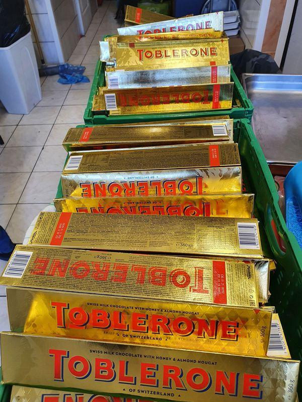 Ces chocolats donnés à l'association ont fait le bonheur de nombreuses familles démunies d'Annemasse