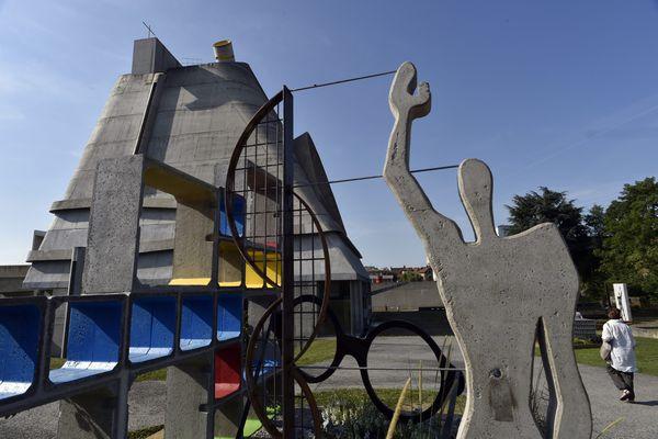 Le site Le Corbusier à Firminy, dans la Loire, le 11 juillet 2015.